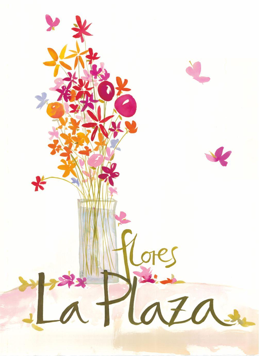 Flores La Plaza, Cangas del Narcea, Asturias