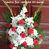 Centro flor variada 50€