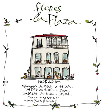 Flores La Plaza. Horarios de nuestra tienda