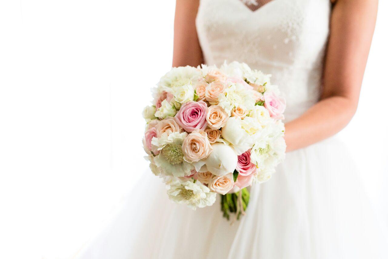 Centros de flores naturales para bodas
