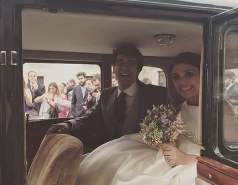 Ana y Luis, la alegría de una boda.