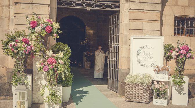 Boda de Laura & Mario. Flores y decoración.