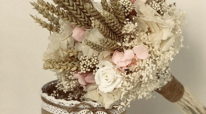 Ramos de flor preservada